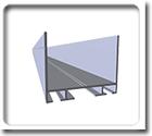 Алюминиевые профили для секционных ворот