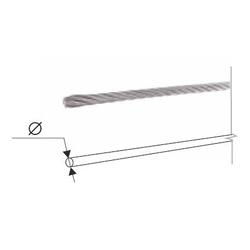 Трос стальной для ворот 4 мм