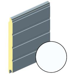 Панель воротная 625мм ALUTECH S-гофр (цвет: Белый)