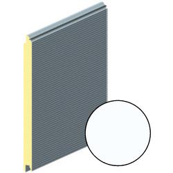 Панель воротная 625мм ALUTECH Микроволна (цвет: Белый)