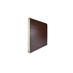 Панель 500мм TECSEDO стук/стук R 8017/9010 (Красно-коричневый/Белый)