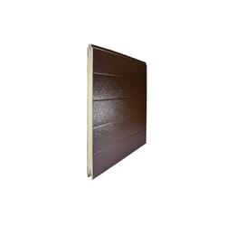 Панель 610мм TECSEDO стук/стук R 8014/8014 (Коричневый/Коричневый)