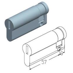 Цилиндровый механизм 9/57 мм C-9/57