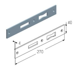 Планка ригеля WL0200