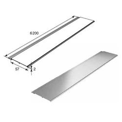 Профиль алюминиевый DHOP-01 белый муар