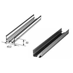 Профиль нижний стальной для секционных ворот Y42S