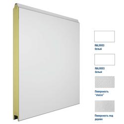Панель 475мм Ндерево без полосы/Нстукко белая (RAL9003)/бел(RAL9003)