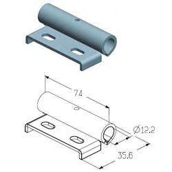 Накладка роликовая промежуточная RP-40.123