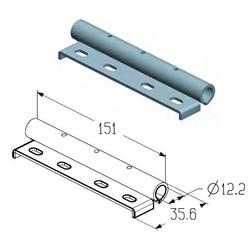 Накладка роликовая промежуточная дуплексная RP-40.123D