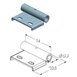 Накладка роликовая верхняя RP-40.125