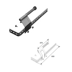 Комплект L/R пружинного амортизатора укороченного K25026