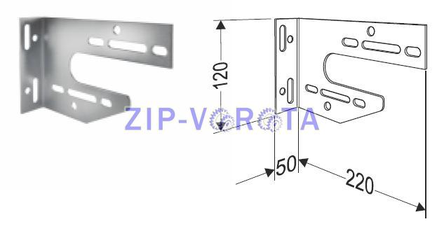 Универсальный внутренний опорный кронштейн (правый)