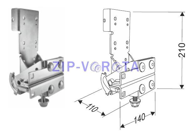 Устройство защиты от разрыва троса модернизированный 25450