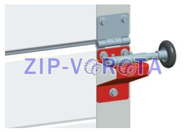 Боковая опара для ворот Алютех RBI123