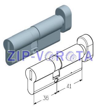 Цилиндровый механизм 36/41 мм C-36/41M