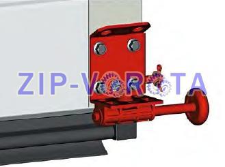 Кронштейн роликовый нижний правый RBT-110R АЛЮТЕХ