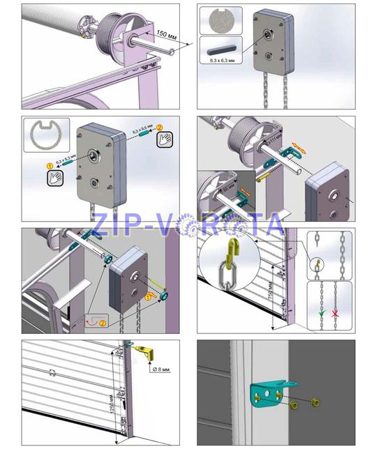 Инструкция по установке редуктора